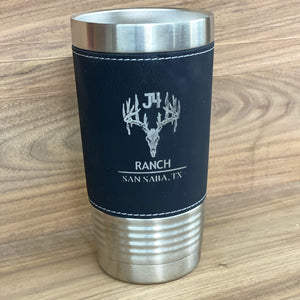 Leather Engraved Tumblers