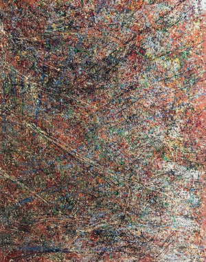 Abstract #3 Mixed Medium Painting on Canvas by Luigi Cosentino