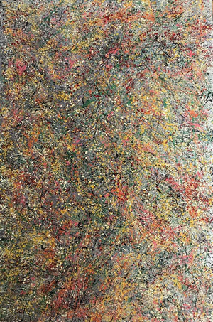 Abstract #17 Mixed Medium Painting on Canvas by Luigi Cosentino