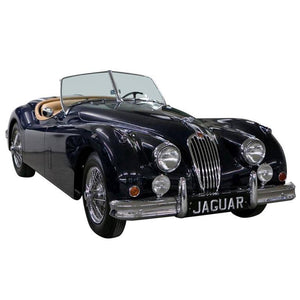 Vintage 1955 Jaguar XK 140MC OTS Vavy Blue Car
