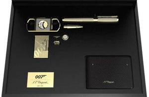 S.T. Dupont James Bond 007 Limited Edition 6-Pieces LE Collector Set