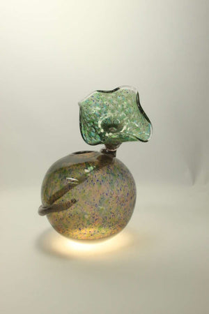 Rare Signed Handblown Art Glass Vase Richard Price