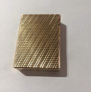 Dunhill Gold-Plated Lighter Paris France Estate Find