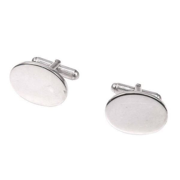 Tiffany & Co. Classic Sterling Silver Cufflinks
