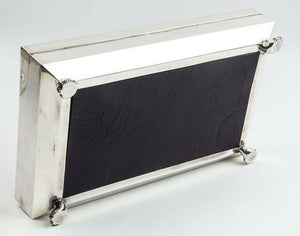 Art Deco Sterling Silver George V Presentation Box England Circa 1926