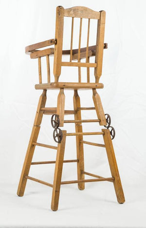 American Doll's Wooden 3-in-1 High Chair