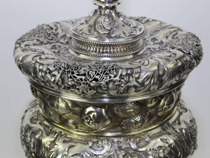 Magnificent Important Antique Large Silver Covered Chalice
