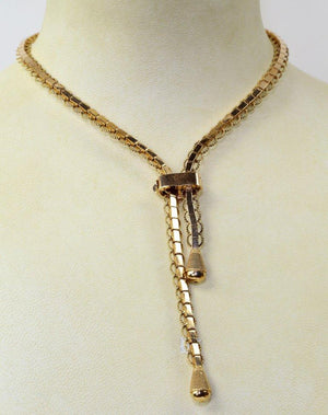 Mid-Century Modern Bolero Gold Heirloom Necklace