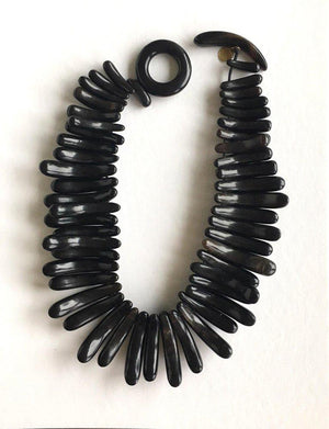 Gerda Lynggaard for Monies Statement Horn Necklace Denmark