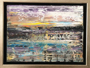 Andrew Plum Venus Sunrise Contemporary Abstract Painting, 2020
