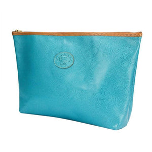 Leather Clutch Bag by Comptoir Sud Pacifique Paris France