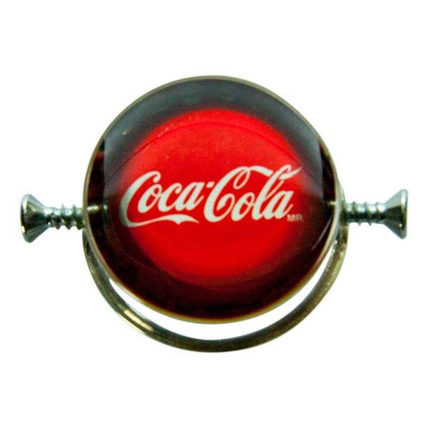 One-of-A-Kind Walter Schluep Coca-Cola Sterling Silver Statement Ring