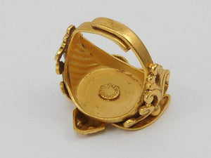 Askew London Signed Winged Goddess Statement Ring