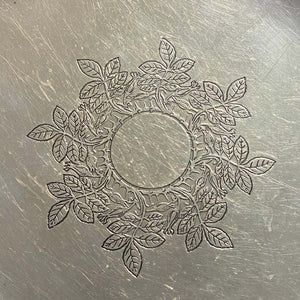 Tiffany & Co. Sterling Silver Serving Platter circa 1900s Estate Find