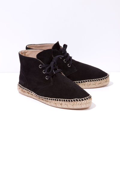 Chorro - Suede Espadrille Boots
