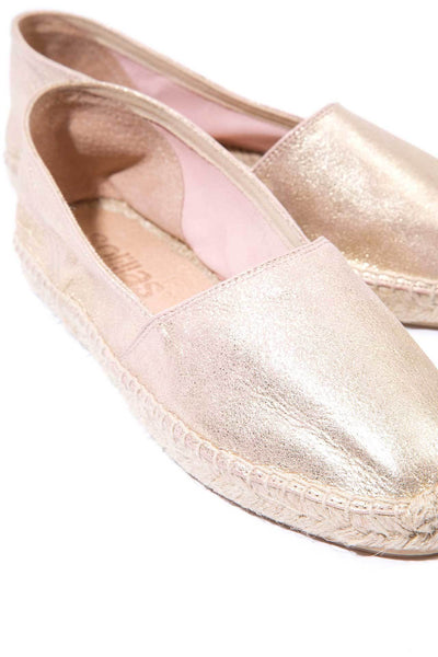 Vedella - Dusted Leather Espadrilles