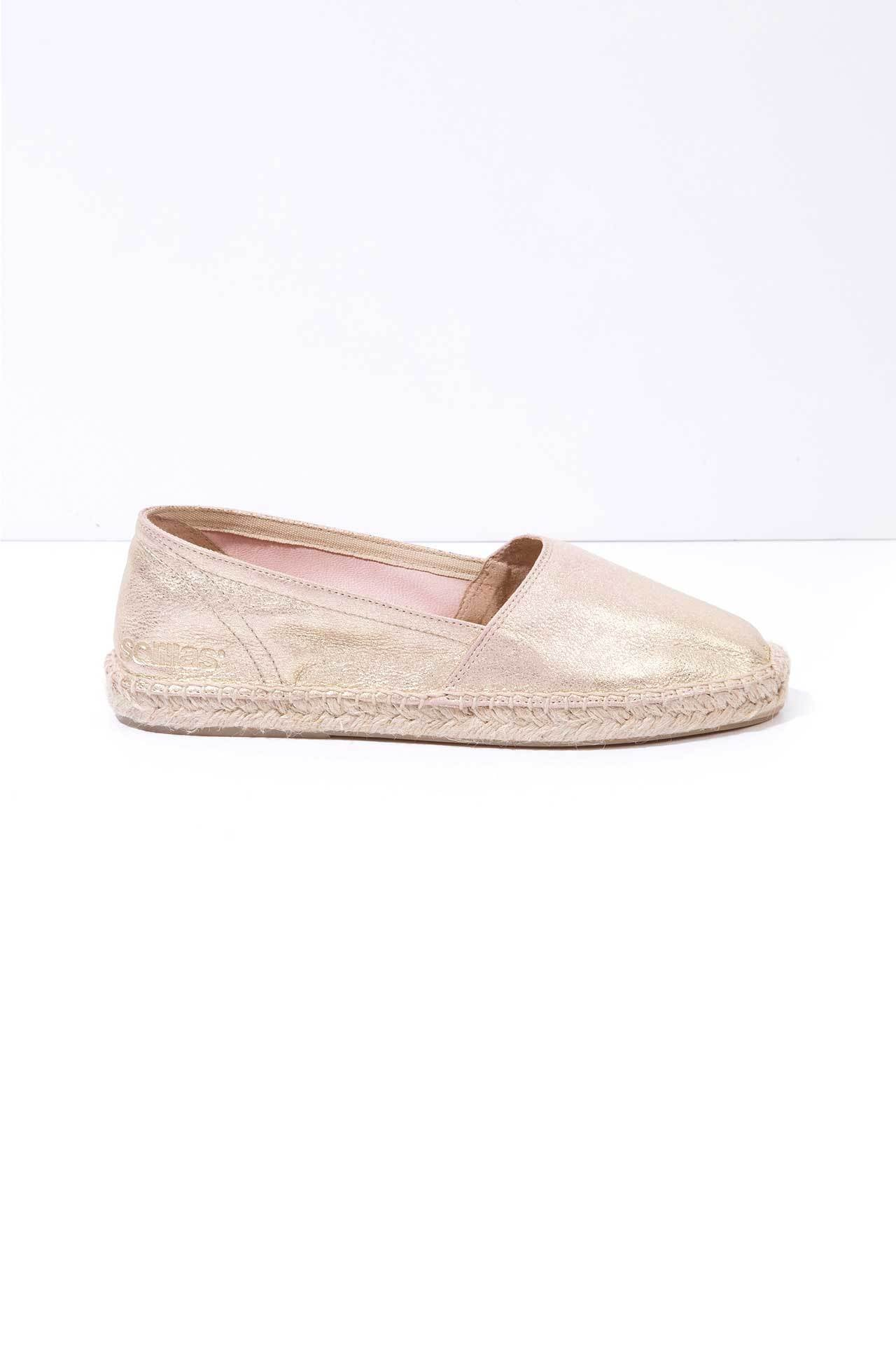 8ec9b763353 Vedella - Dusted Leather Espadrilles