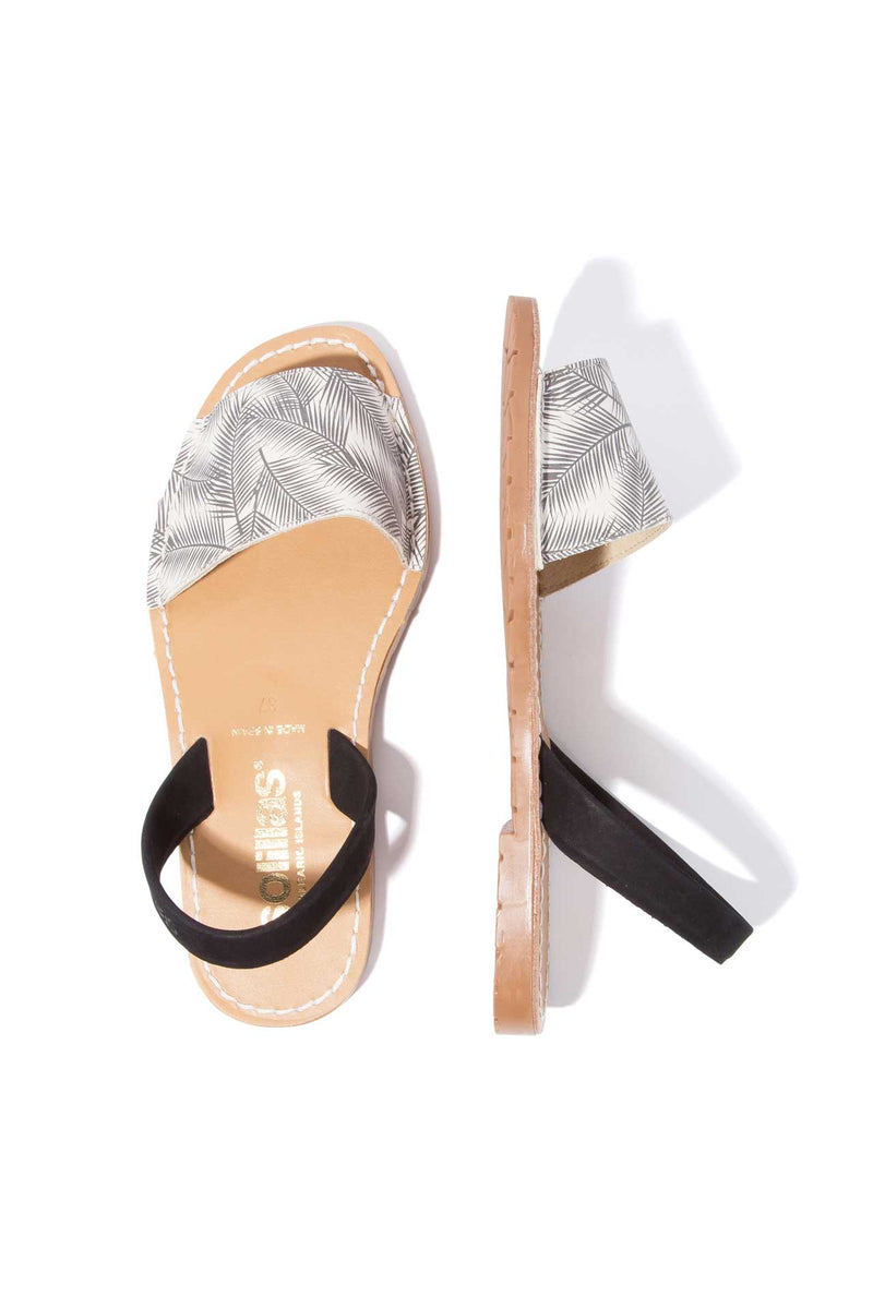SOMBREADO FRESCA - Palm Print Menorcan Sandals