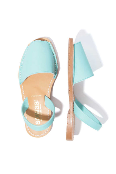 LAGO ORIGINAL - Turquoise Leather Menorcan Sandals