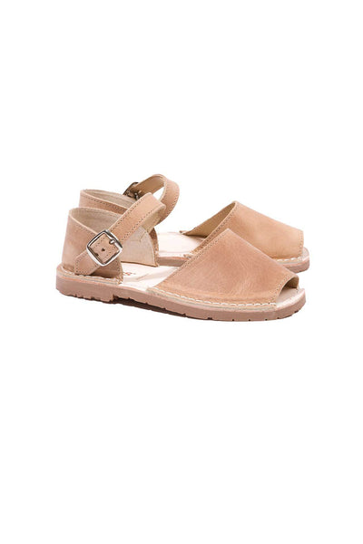 Canela - Leather Buckle sandals