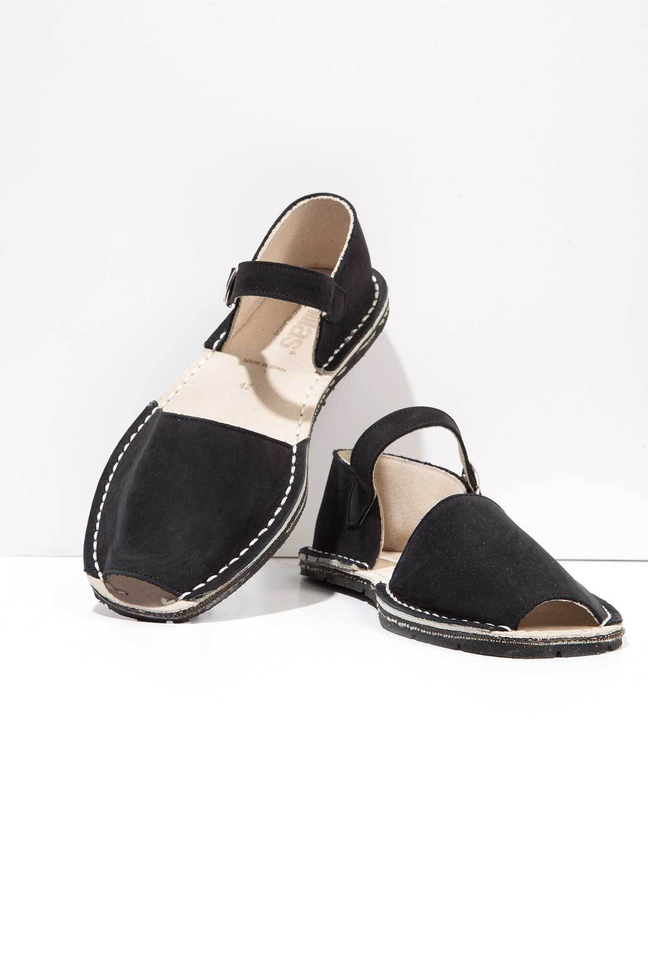 Worker - Suede Buckle sandals