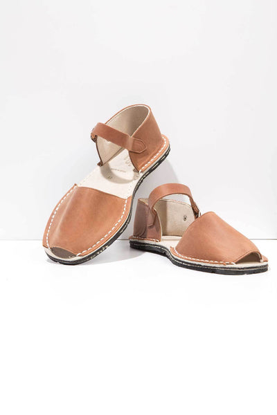 Worker - Leather Buckle sandals