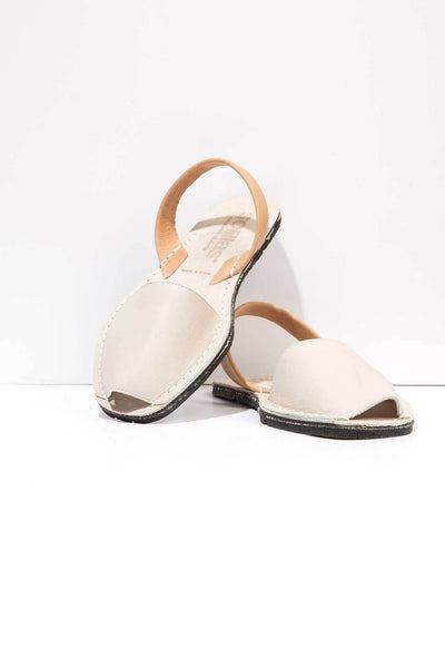 Jordi - Two Tone Leather sandals