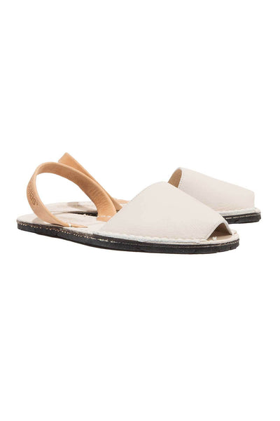 Jordi - Two Tone Leather Men's sandals