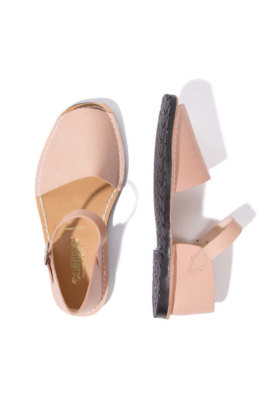 Salmon Worker - Leather Buckle sandals