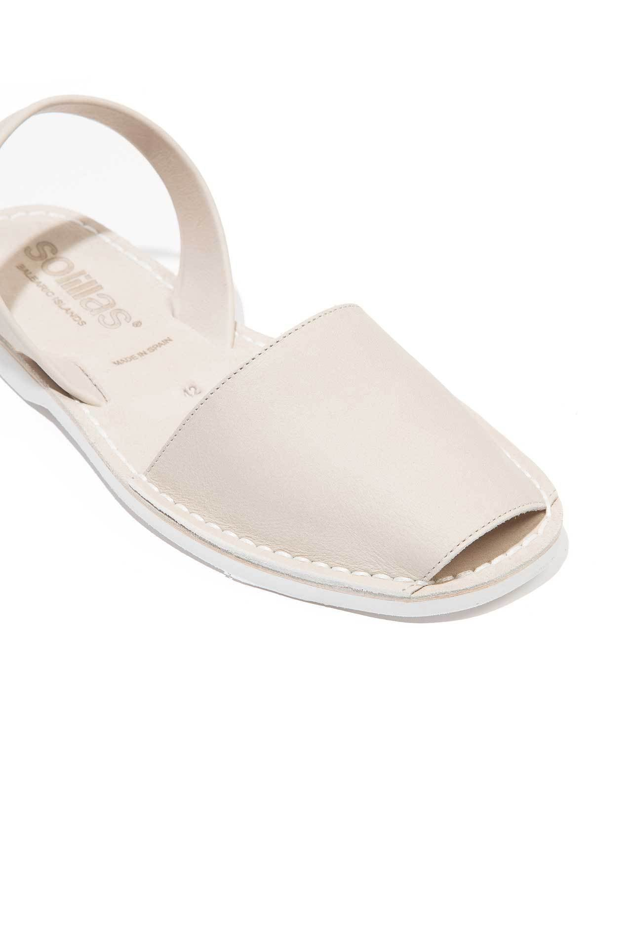 7b1db7c8fb92 Surf - Leather White Sole sandals