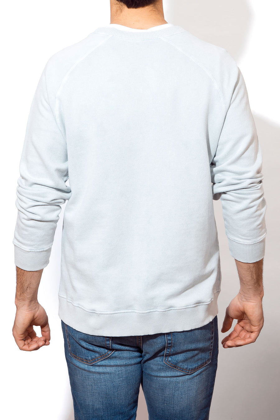 Men's Beach Sweatshirt - Embroidered Logo