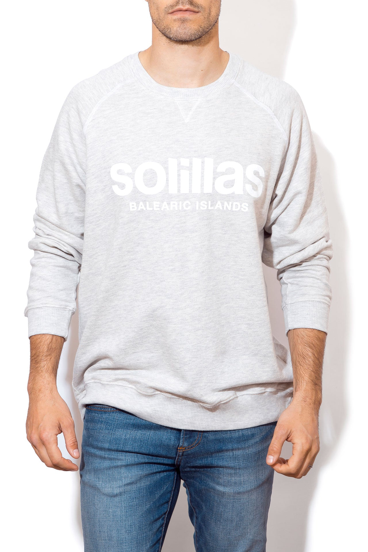 Men's Beach Sweatshirt - Logo