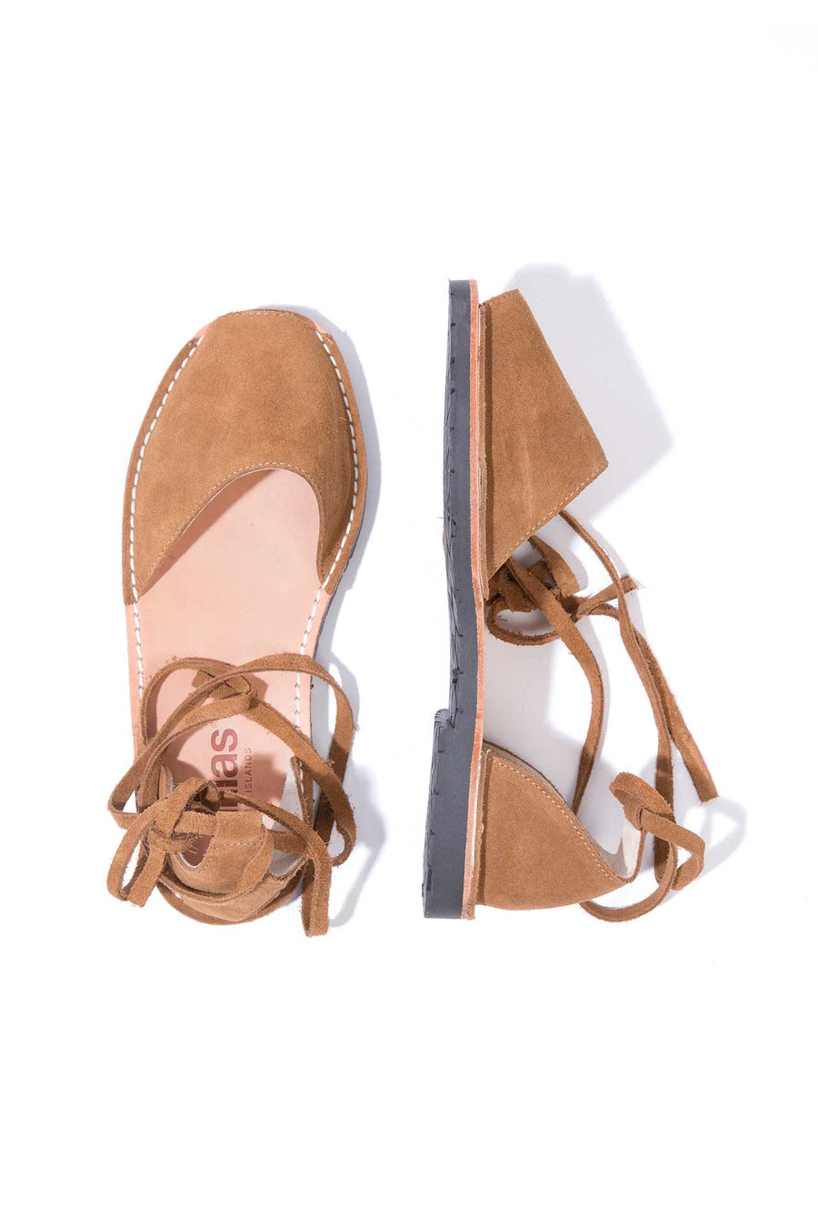 Arenilla - Suede Ankle Tie Sandals
