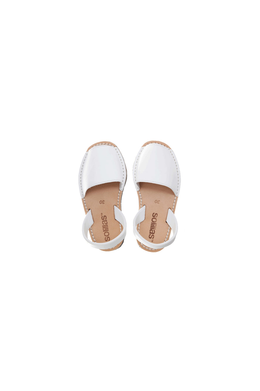 Blanco - Leather Menorcan Sandals