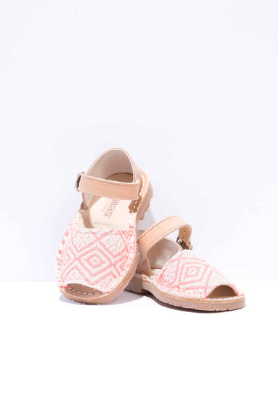 Rosa Geo Bebe - Boho Leather Buckle Sandals