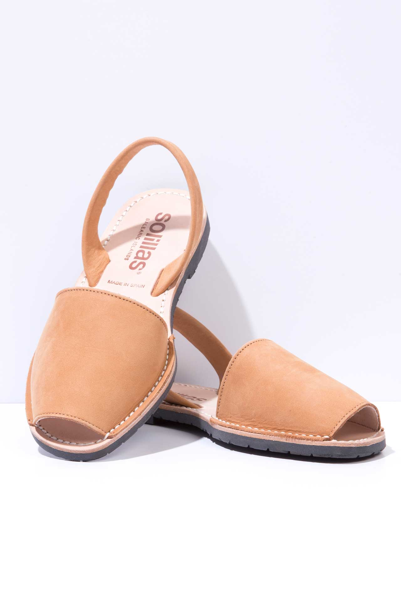 Cuero - Nubuck Leather Menorcan sandals