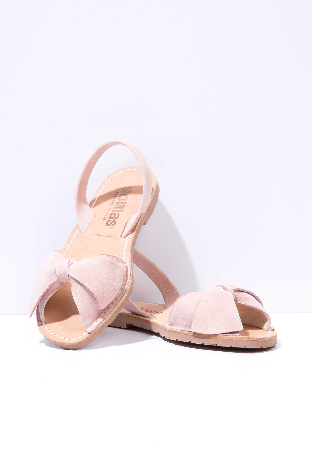 Rojillo Lazo - Bow Detail Suede sandals