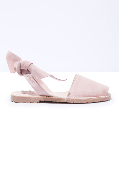 Rosa Isabel - Big Bow Menorcan sandals