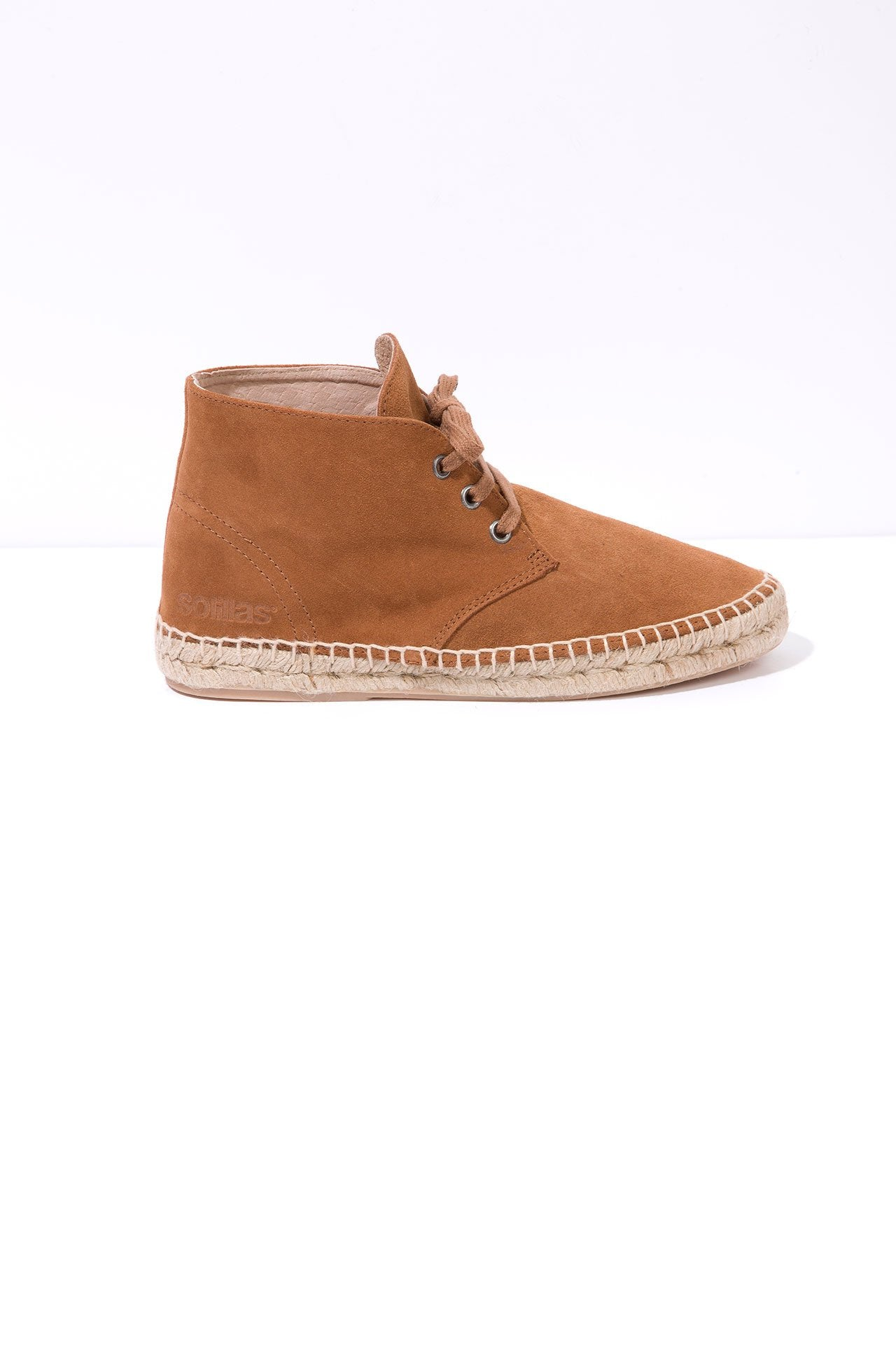 Madera - Suede Espadrille Boots