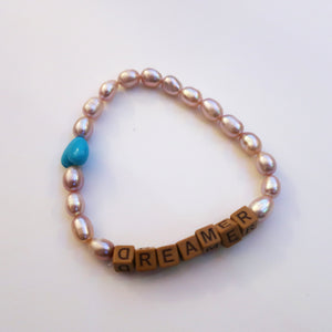 'DREAMER' FRESH WATER PEARL BRACELET 1 OF 1