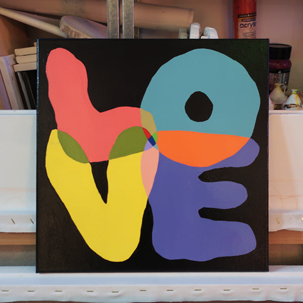 'LOVE' original painting