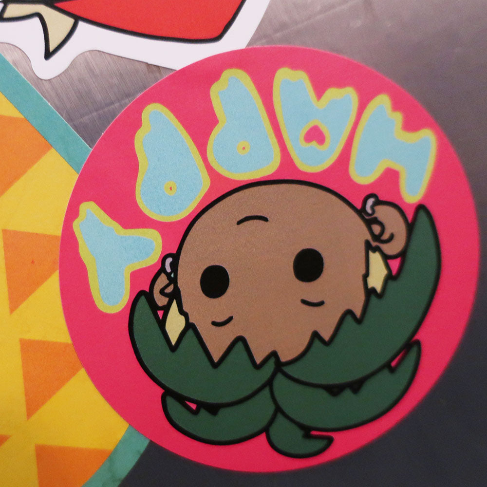 HAPPY PALM BOI STICKER