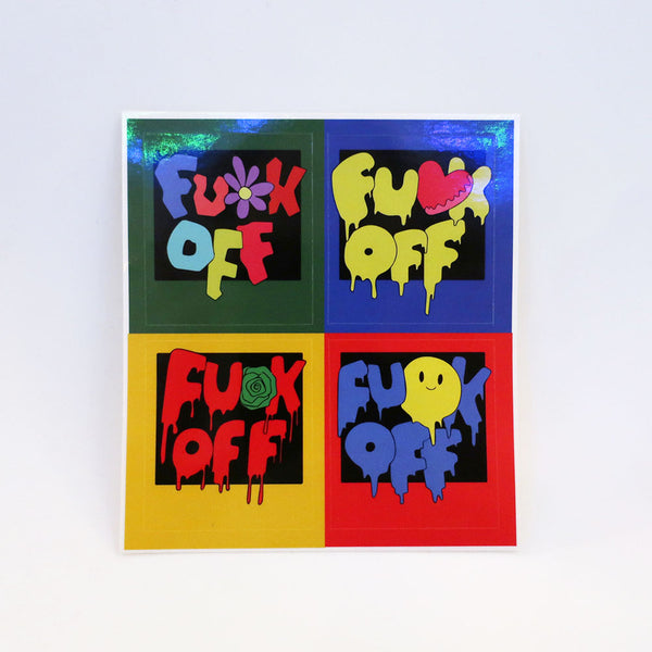 FU*K OFF STICKERS