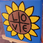 SUNFLOWER LOVE ORIGINAL ARTWORK