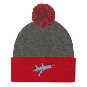 Flight 420 Pom Pom Knit Cap