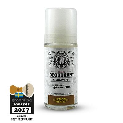 LEMON MYRTLE DEODORANT BY THE BEARDED CHAP