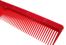 IRVING BARBER CO. RED RULER STYLING COMBS