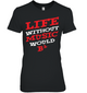 Life Without Music Would Bb Womens Relaxed Fit Tee
