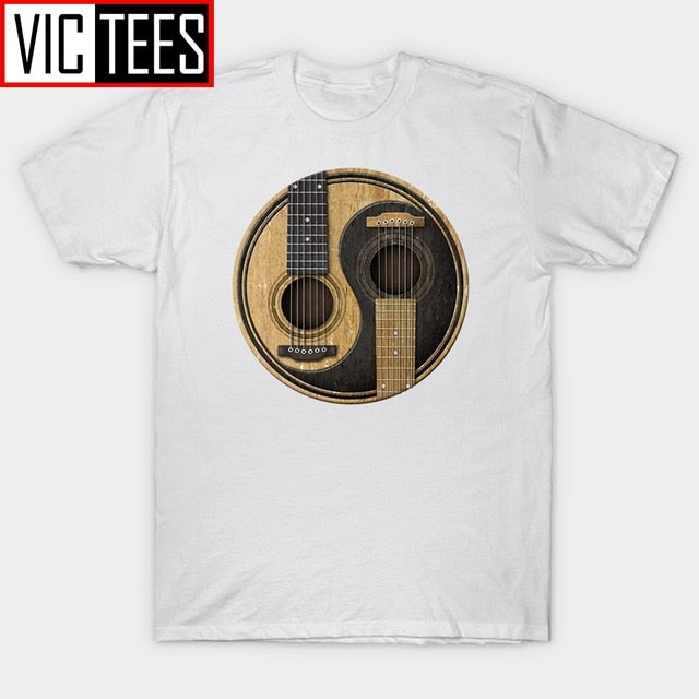 Men's Acoustic Guitars Tee Shirt