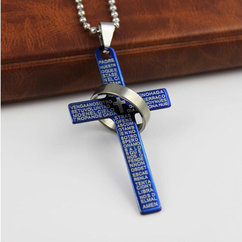 Christian Cross Unisex Necklace